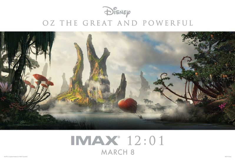 Oz the Great and Powerful IMAX poster