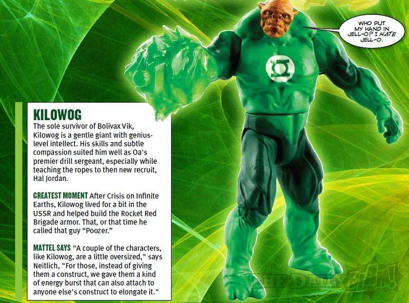 <strong><em>Green Lantern</em></strong> Kilowog Action Figure