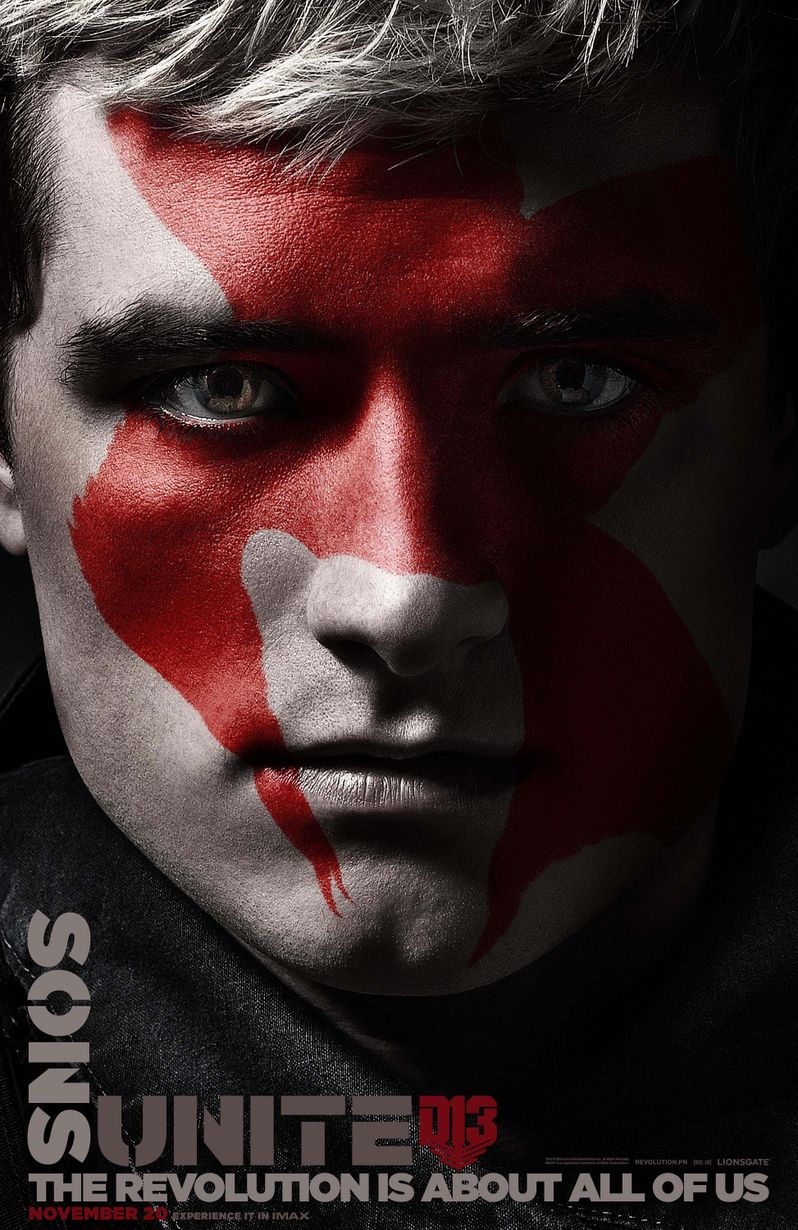 <strong><em>The Hunger Games: Mockingjay Part 2</em></strong> Peeta Poster