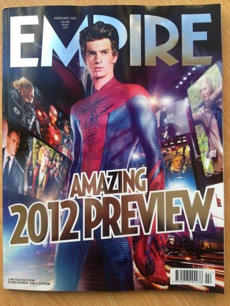 <strong><em>The Amazing Spider-Man</em></strong> Empire Magazine Photo #2