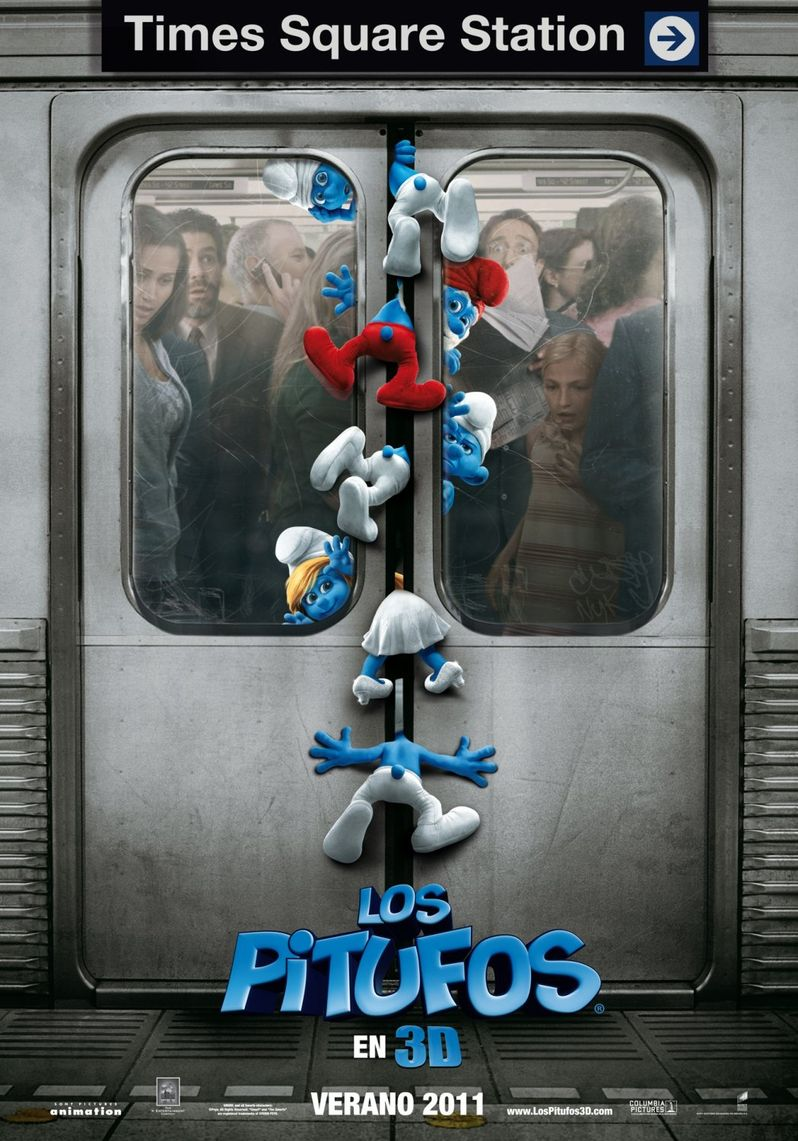 <strong><em>The Smurfs</em></strong> International Poster