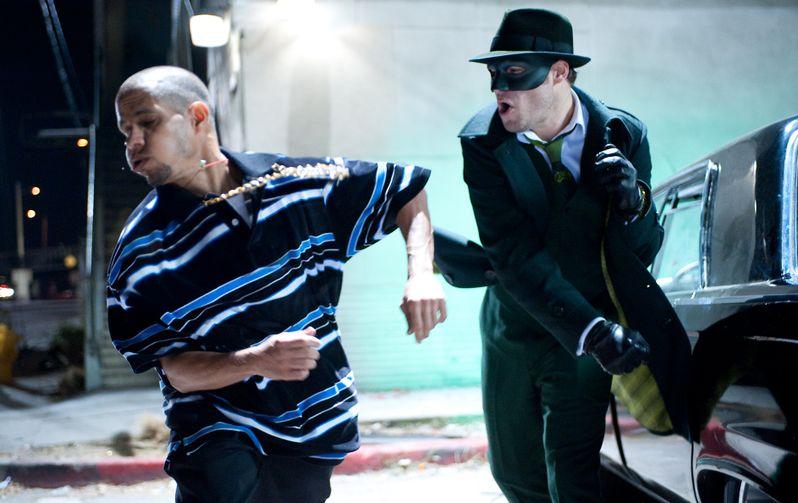 Seth Rogen as the Green Hornet