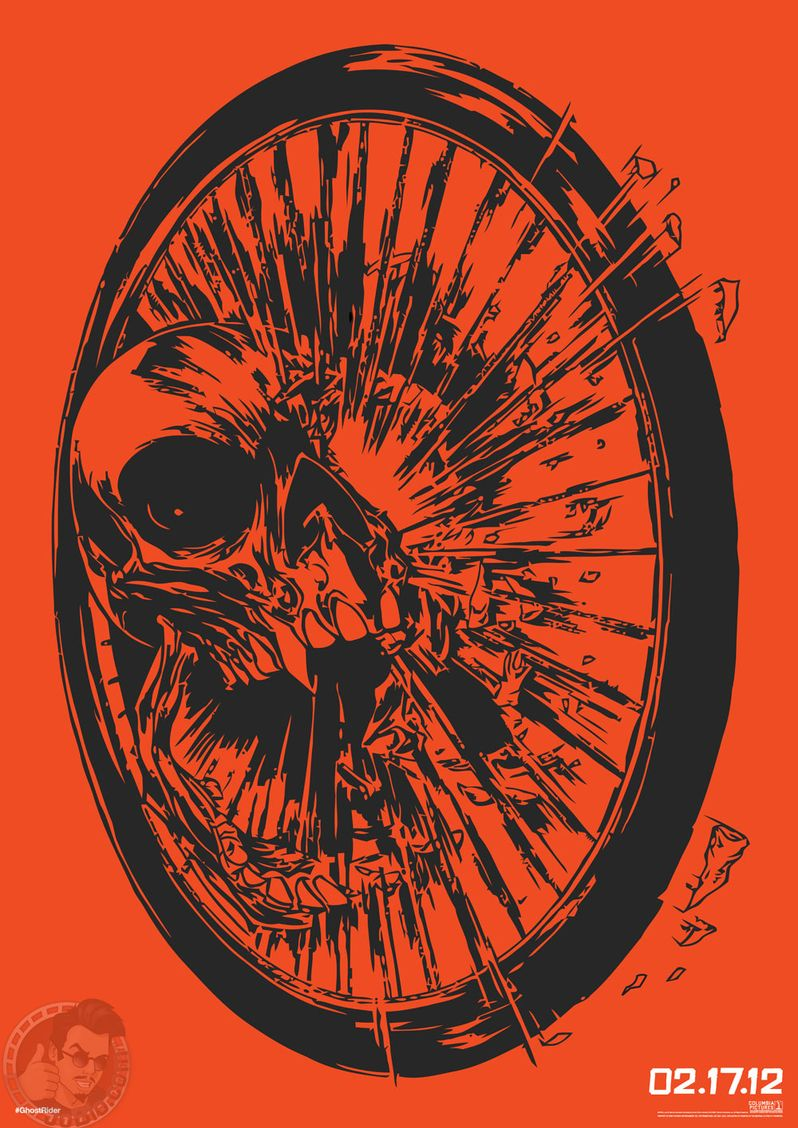 Ghost Rider: Spirit of Vengeance Graphic Art Poster #2