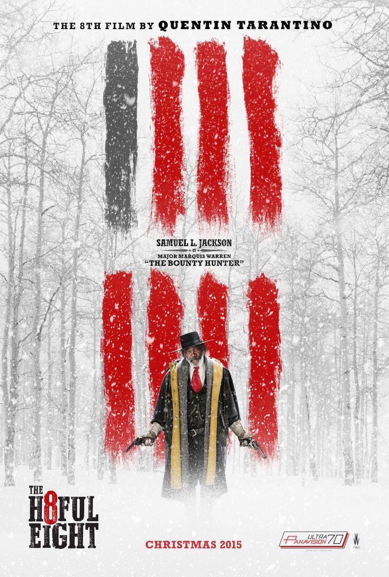 <strong><em>The Hateful Eight</em></strong> Samuel L. Jackson Poster