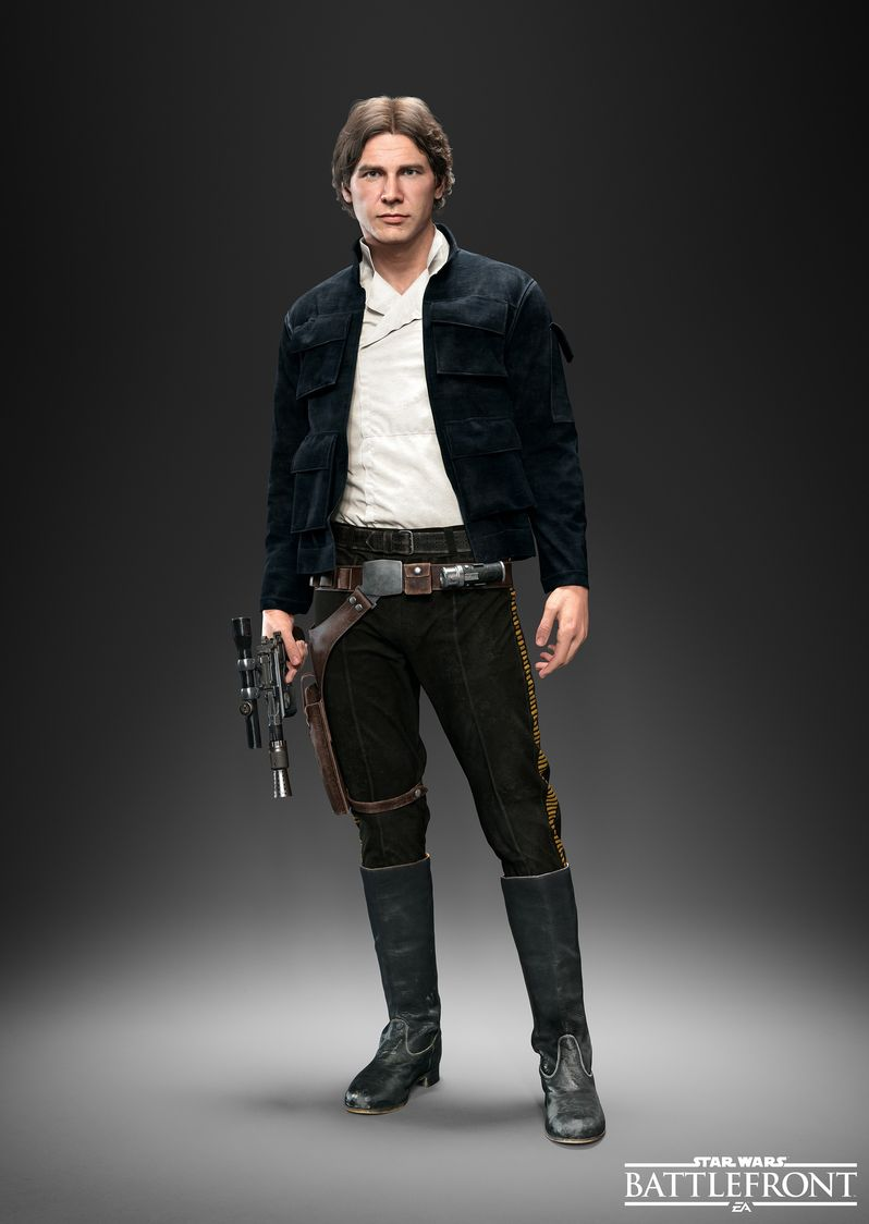 Star Wars Battlefront Han Solo Photo