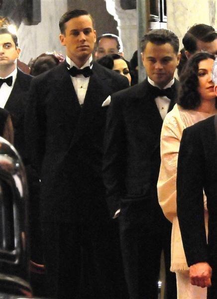 Armie Hammer and Leonardo DiCaprio in <strong><em>J. Edgar</em></strong>