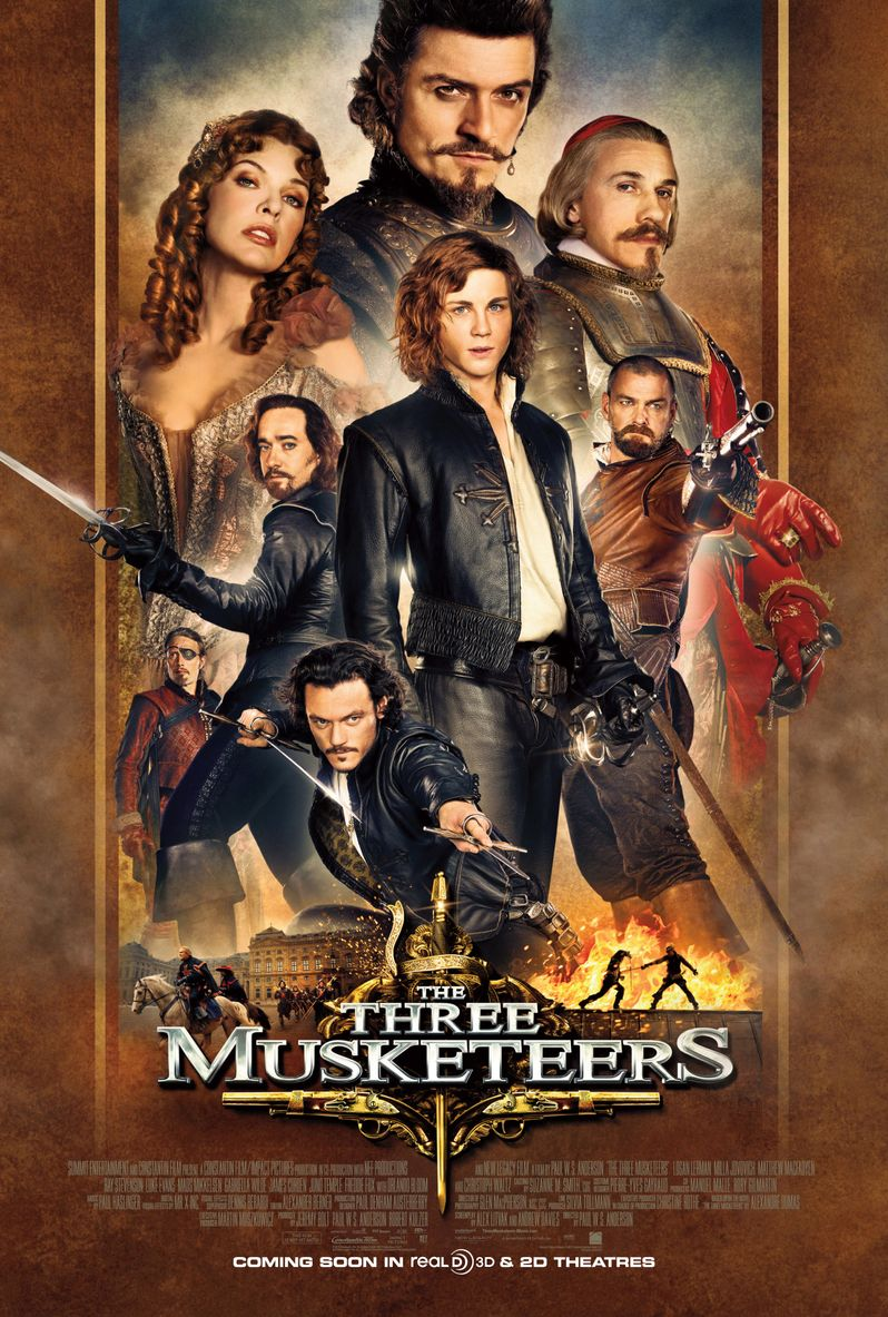 <strong><em>The Three Musketeers</em></strong> Poster