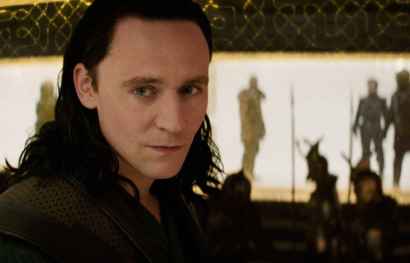Thor The Dark World Tom Hiddleston as Loki