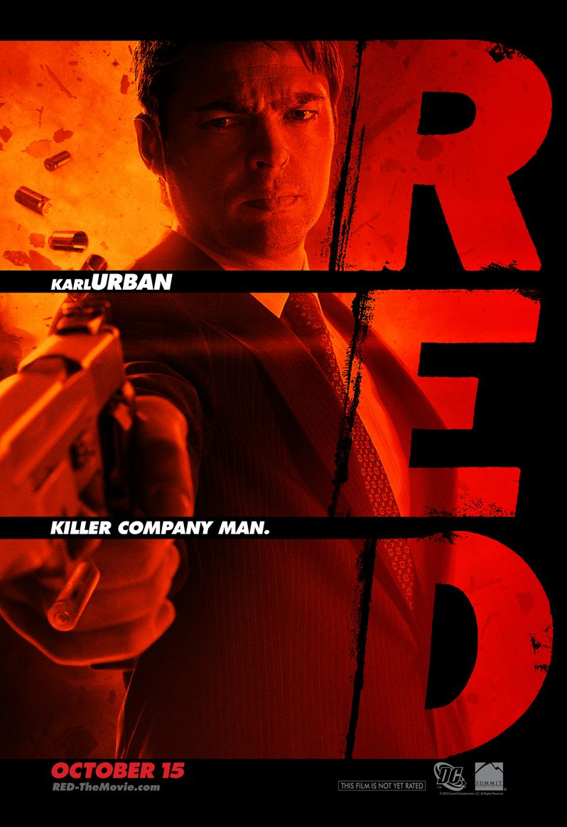 <strong><em>Red</em></strong> Character Poster Karl Urban