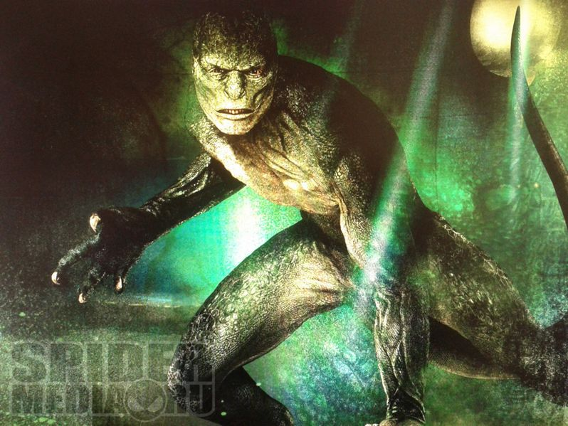 <strong><em>The Amazing Spider-Man</em></strong> Concept Art of The Lizard