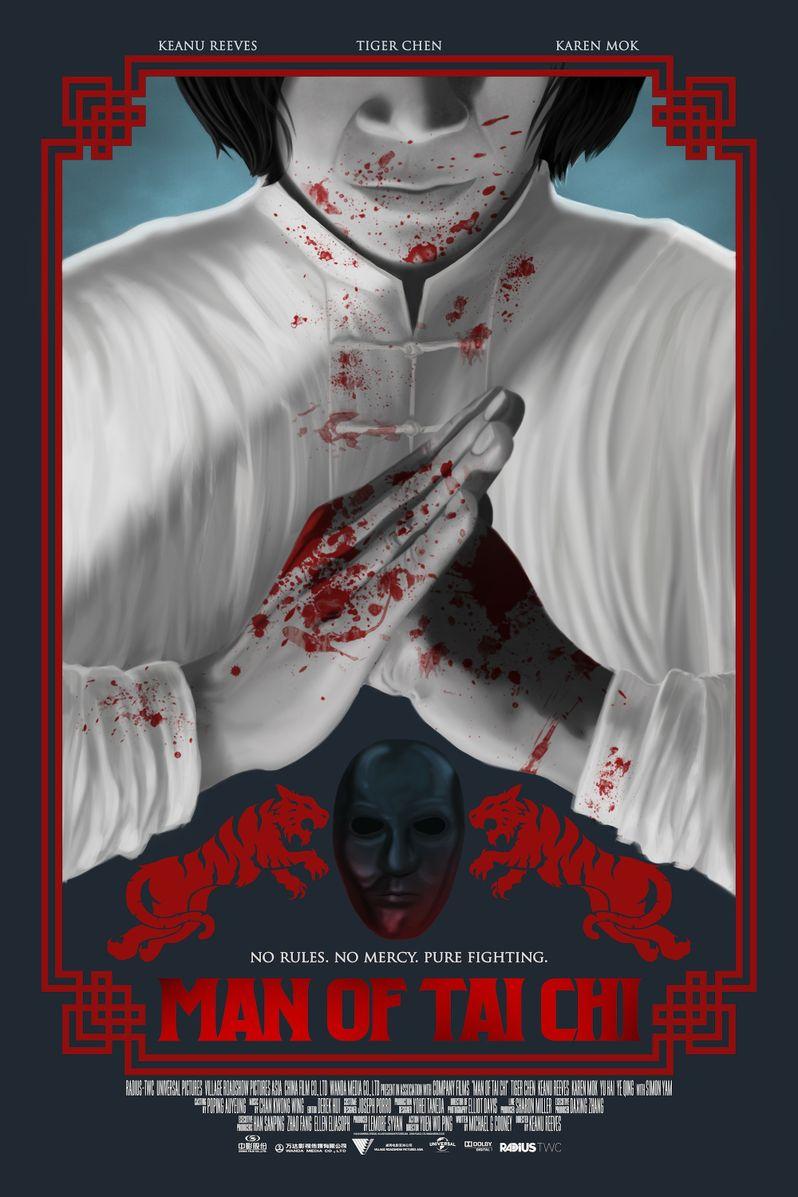 <strong><em>Man of Tai Chi</em></strong> Alternate Poster