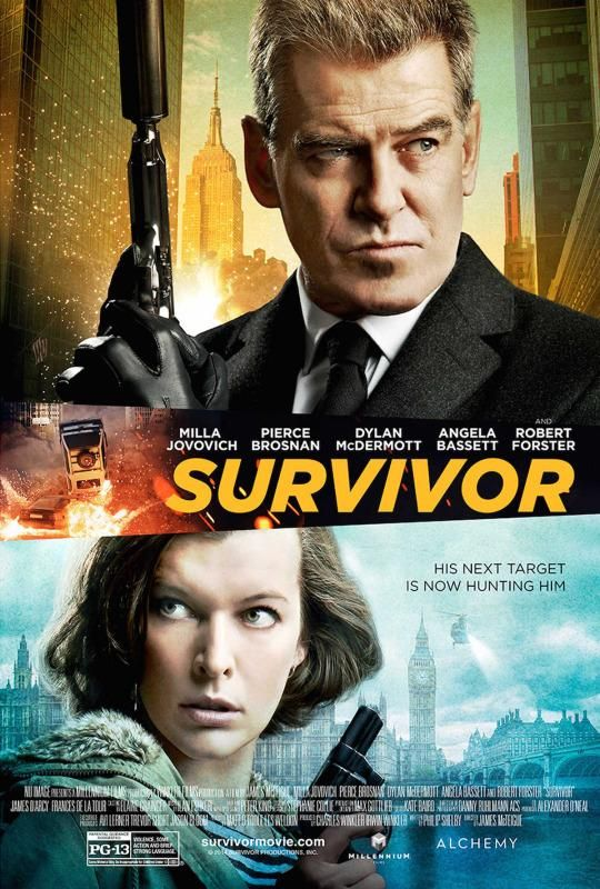 <strong><em>Survivor</em></strong> Poster
