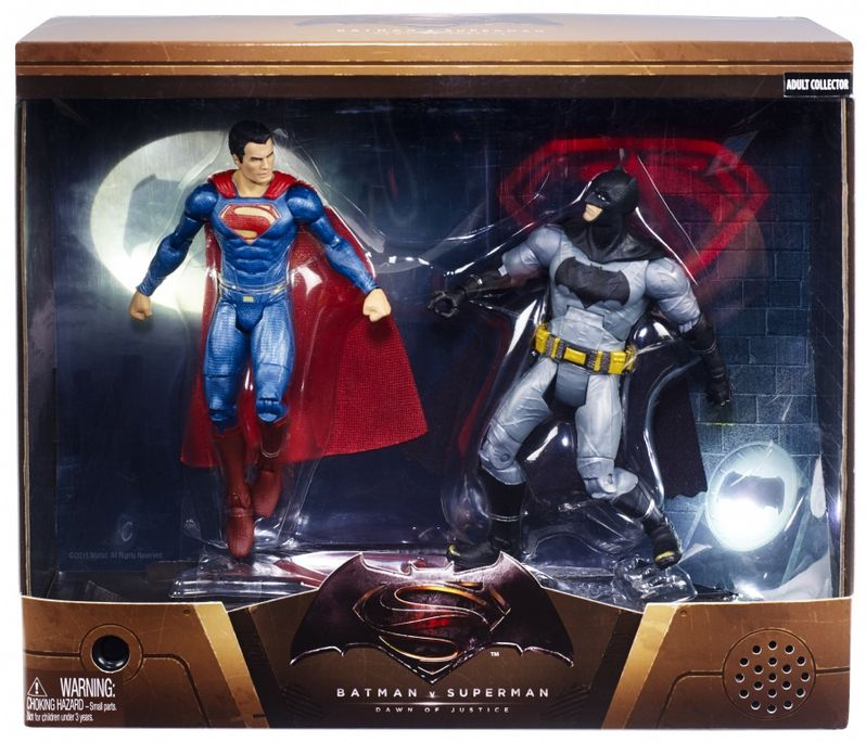 Batman v Superman Dawn of Justice Mattel Comic-Con 2015 Toy 1