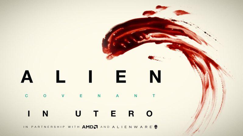 Alien Covenant In Utero VR Experience Art