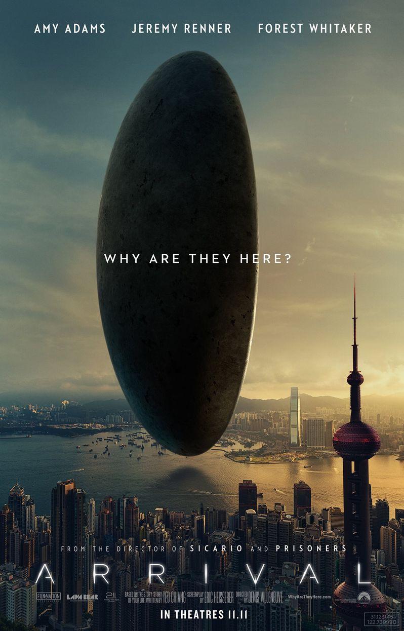 <strong><em>Arrival</em></strong> Hong Kong Poster