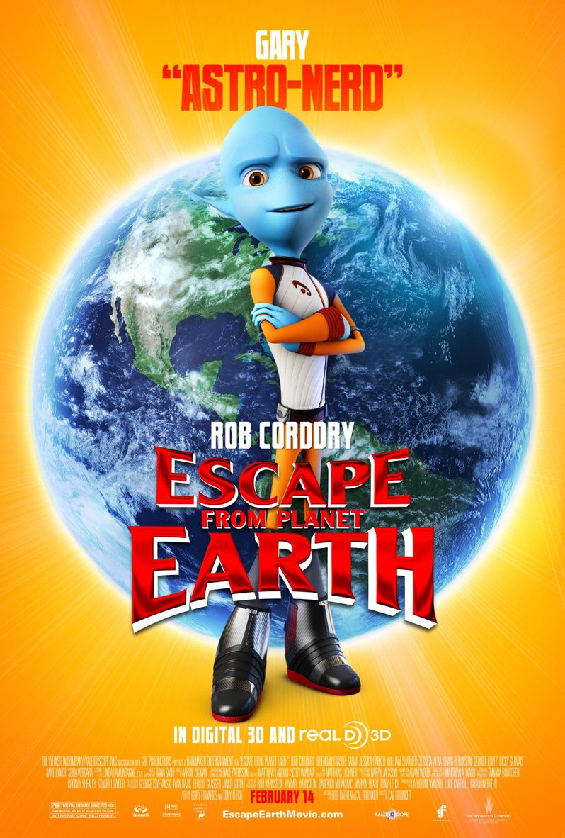 Escape From Planet Earth Gary Character Poster