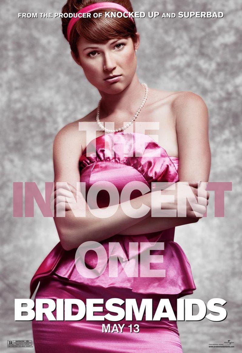 <strong><em>Bridesmaids</em></strong> Ellie Kemper Character Poster