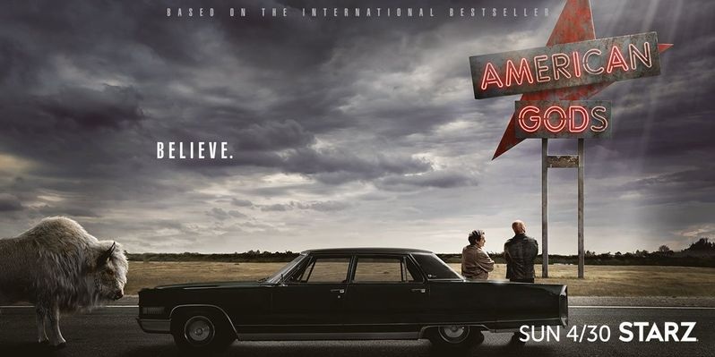 <strong><em>American Gods</em></strong> Poster