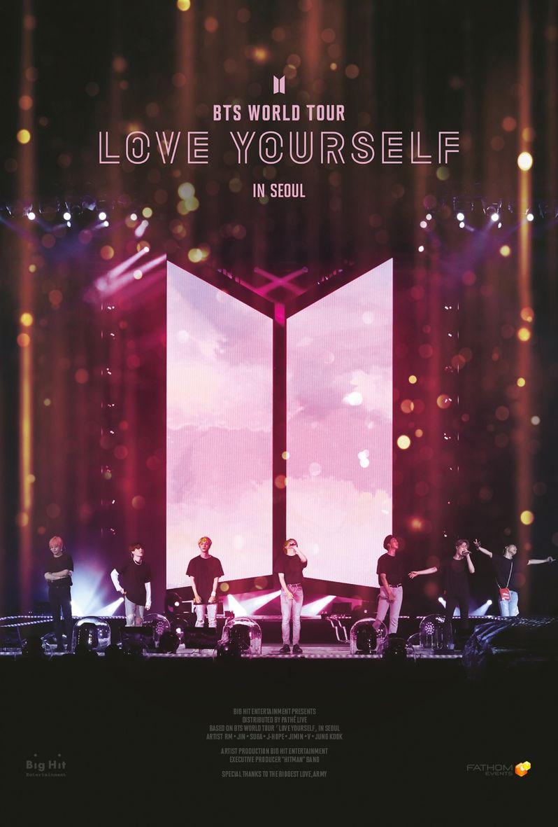 BTS World Tour poster