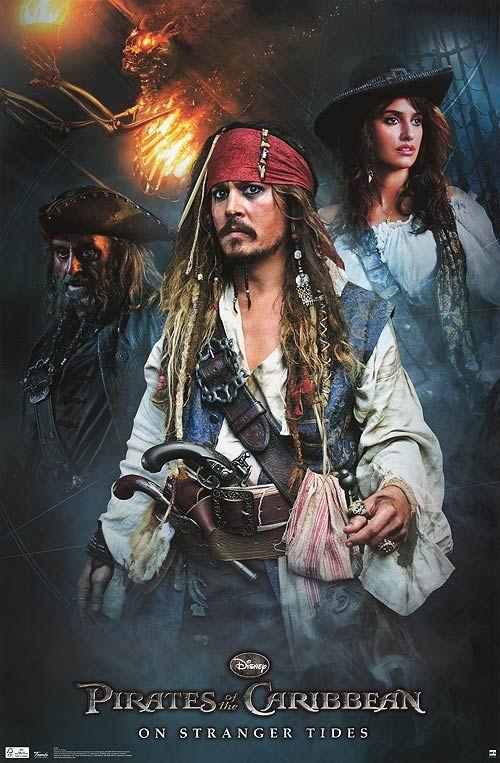 <strong><em>Pirates of the Caribbean: On Stranger Tides</em></strong> Poster #2