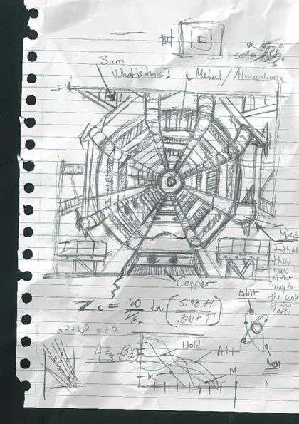Men in Black III: Paticle Accelerator Sketch