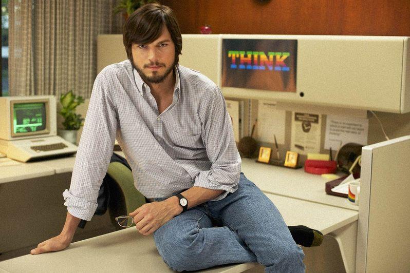 Ashton Kutcher as Steve <strong><em>Jobs</em></strong>