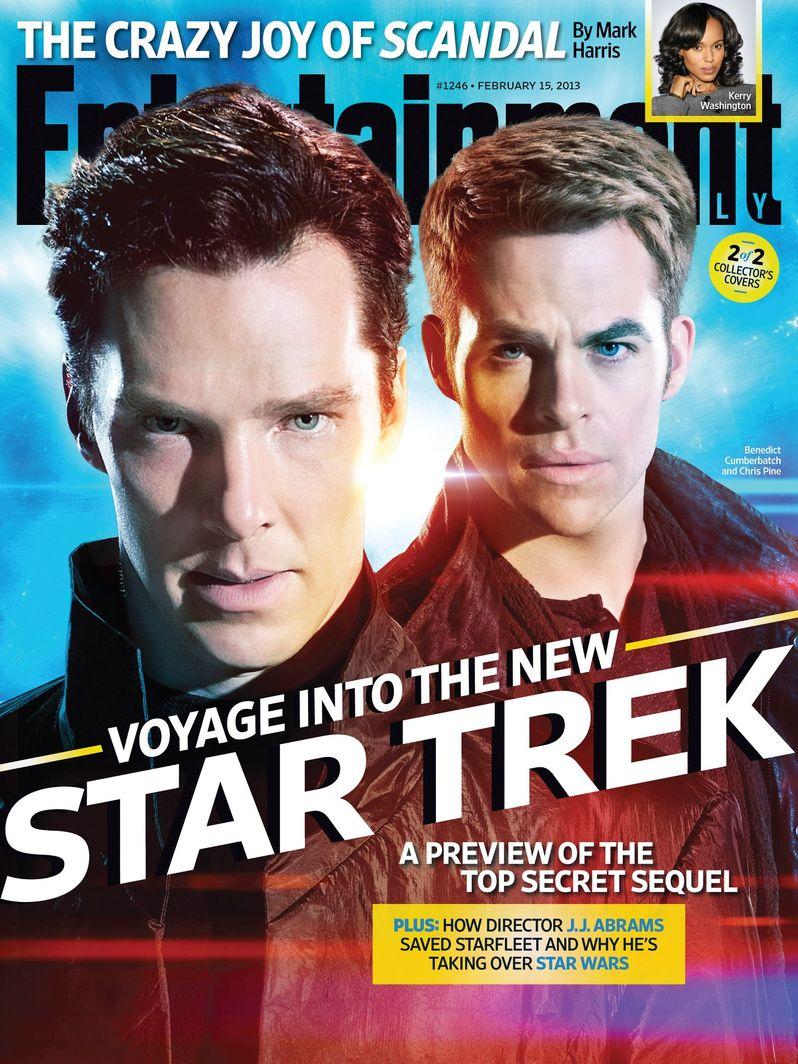 <strong><em>Star Trek Into Darkness</em></strong> EW Cover 1