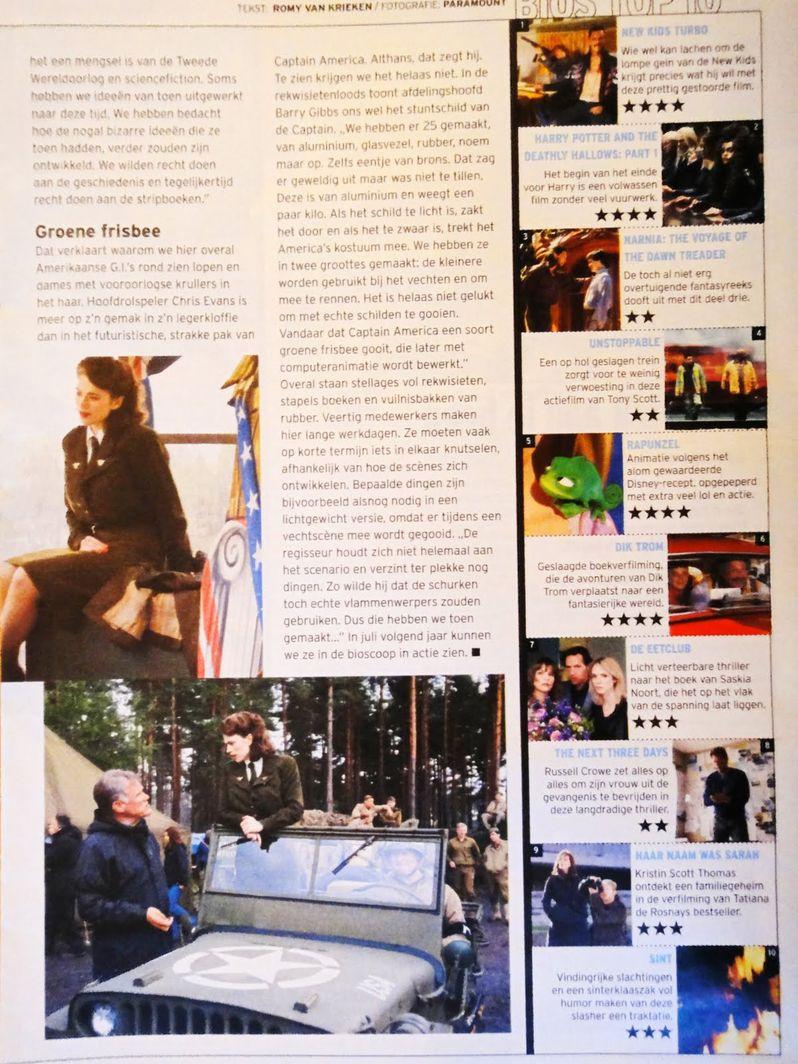 <strong><em>Captain America: The First Avenger</em></strong> magazine photo #2