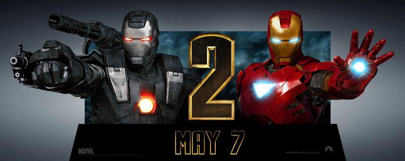 <strong><em>Iron Man 2</em></strong> Standee