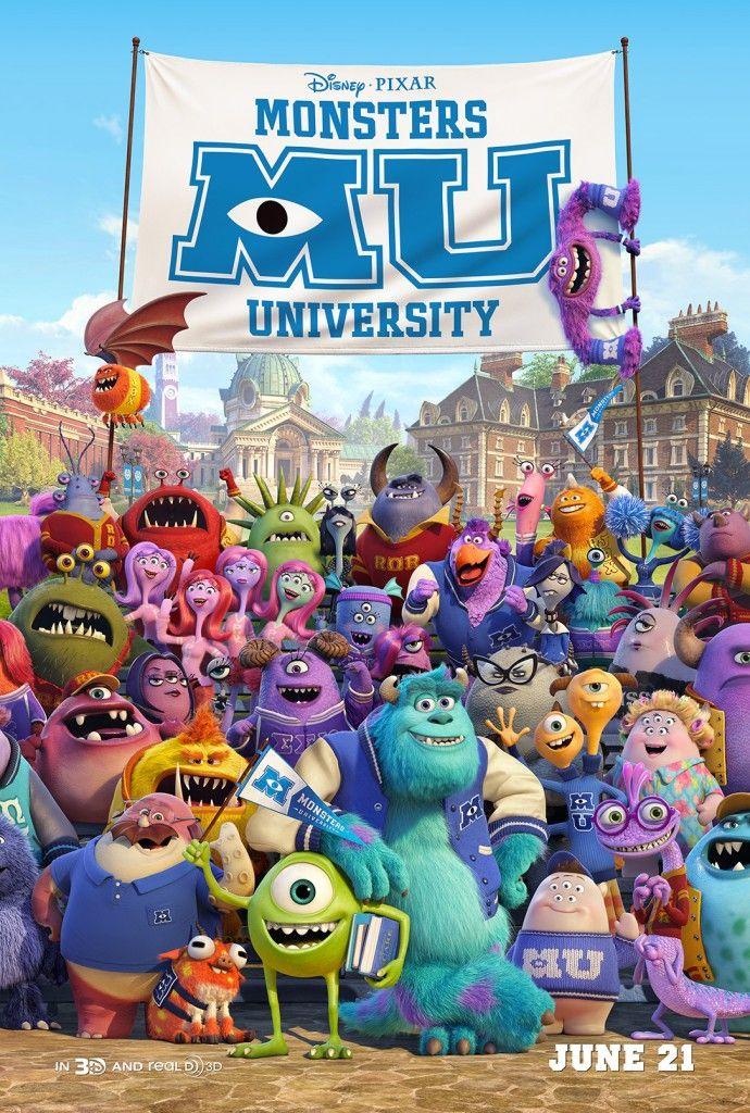 <strong><em>Monsters University</em></strong> Class Poster