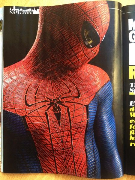 <strong><em>The Amazing Spider-Man</em></strong> Empire Magazine Photo #3