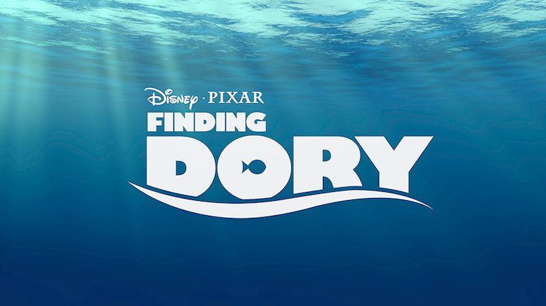 <strong><em>Finding Dory</em></strong> Logo