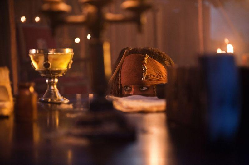 Johnny Depp returns as Captain Jack in <strong><em>Pirates of the Caribbean: On Stranger Tides</em></strong>