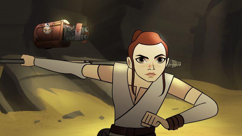 <strong><em>Star Wars Forces of Destiny</em></strong> - Season 1 photo 1