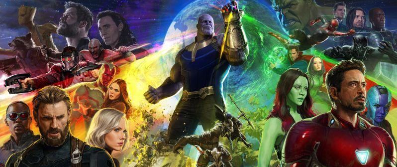 Avengers Infinity War Comic Con