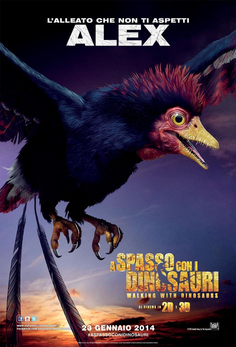 Alex Walking With Dinosaurs Poster
