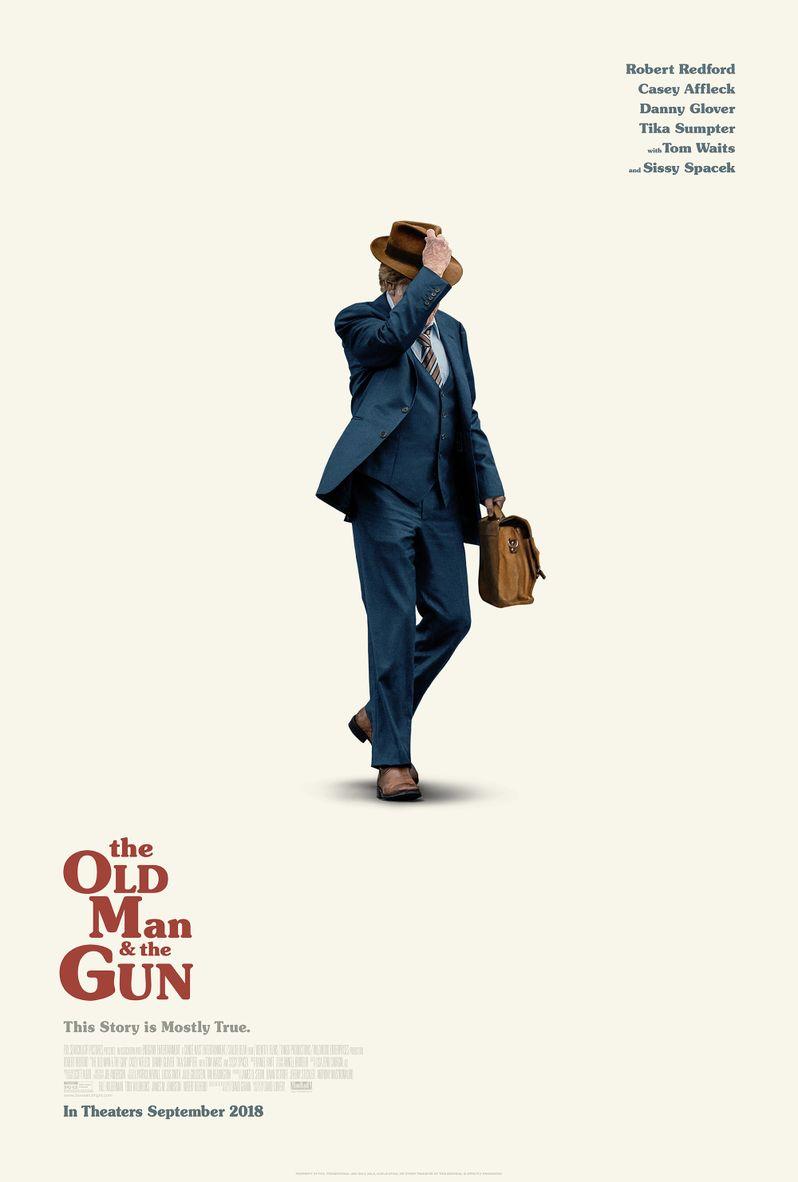 Old Man & the Gun poster