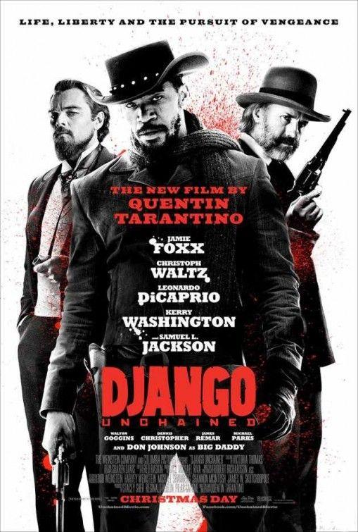 <strong><em>Django Unchained</em></strong> Reservoir Dogs Themed Poster