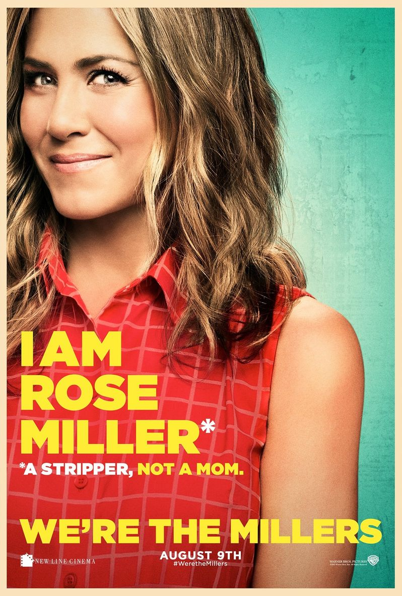 <strong><em>We're the Millers</em></strong> Jennifer Aniston Character poster