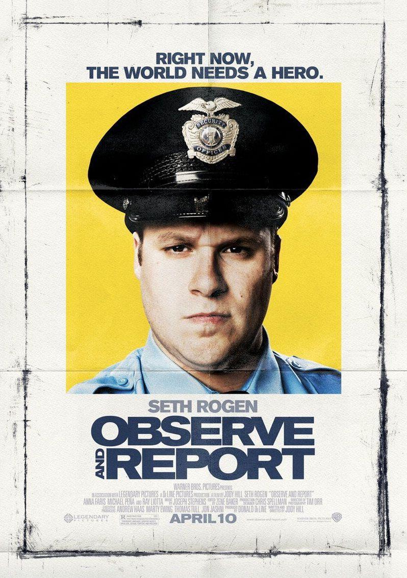 <strong><em>Observe and Report</em></strong> Poster