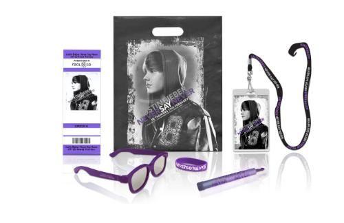 <strong><em>Justin Bieber: Never Say Never</em></strong> sneak peek merchandise