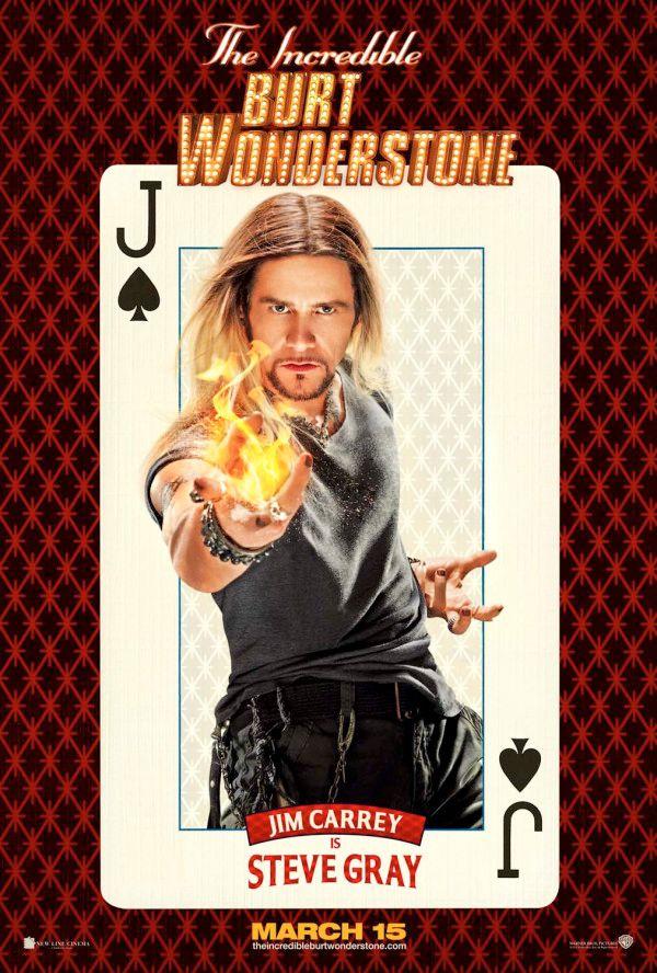 Burt Wonderstone Jim Carrey Poster