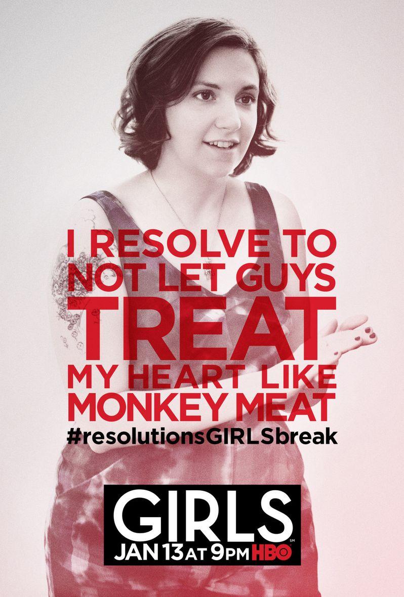 <strong><em>Girls</em></strong> Season 2 Poster 2