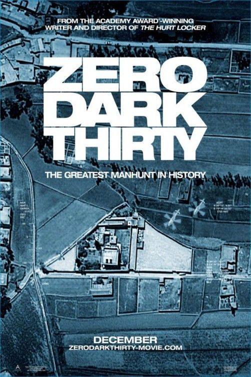 <strong><em>Zero Dark Thirty</em></strong> Poster