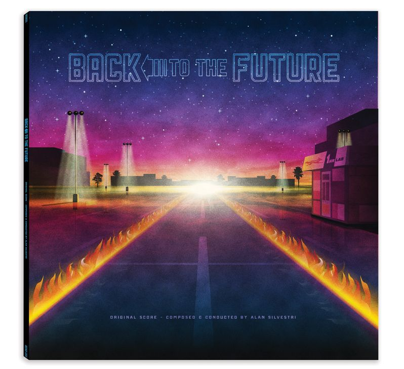 Back to the Future trilogy Soundtrack Vinyl photo 3