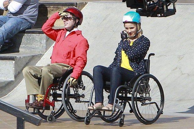 <strong><em>Glee</em></strong> Cliffhanger Spoiler Set Photo