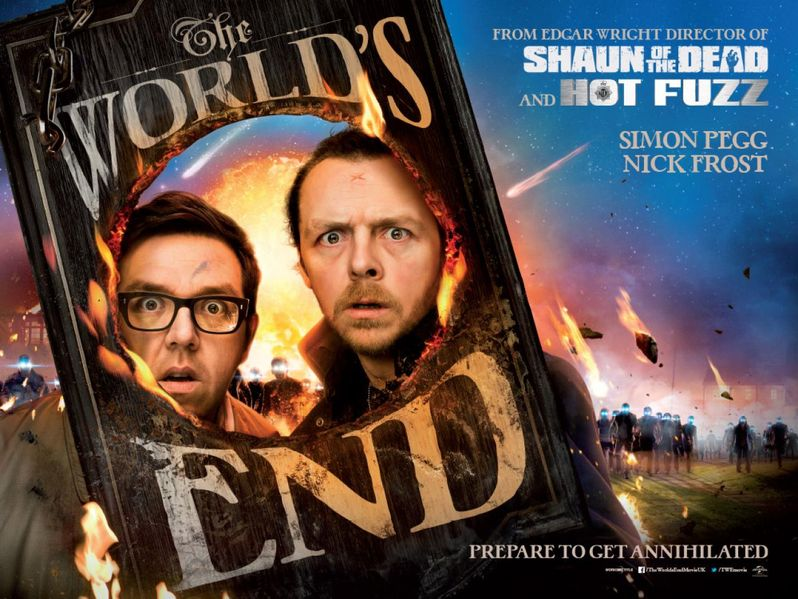 <strong><em>The World's End</em></strong> Poster