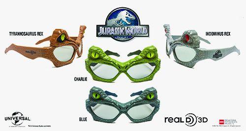 <strong><em>Jurassic World</em></strong> 3D Glasses Photo 5