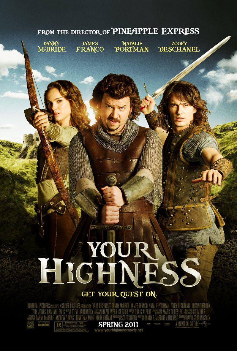 <strong><em>Your Highness</em></strong> poster