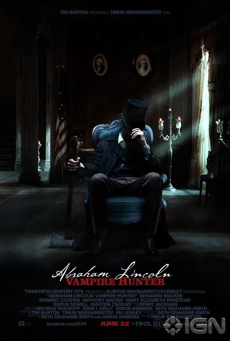<strong><em>Abraham Lincoln: Vampire Hunter</em></strong> Poster #2
